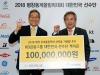 KB금융그룹, 평창동계올림픽 대한민국 선수단에 격려금 전달