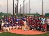 라오스 국가대표 야구팀과 친선경기