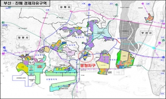 부산․진해경제자유구역 송정지구 해제 유예 연장 결정