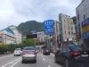 황령터널 교통사고 예방을 위한 노면 유도선 설치