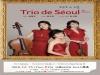 서울--(뉴스와이어) 2018년 11월 21일 -- 'Trio de Séoul' 트리오 드 서울 4번째 정기연주회가 12월 13일(목) 오후 8시 예술의전당 리사이틀홀에서 진행된다.