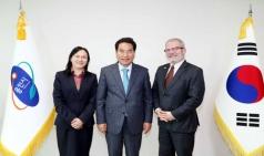 백군기 용인시장, 중국 북경교통대학 관계자 접견