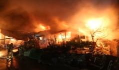 양평소방서, 청운면 주택화재 퇴직 소방공무원이 진압활동 도와