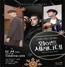 안성맞춤아트홀, '화이트 세레나데' 크리스마스 콘서트 공연 개최